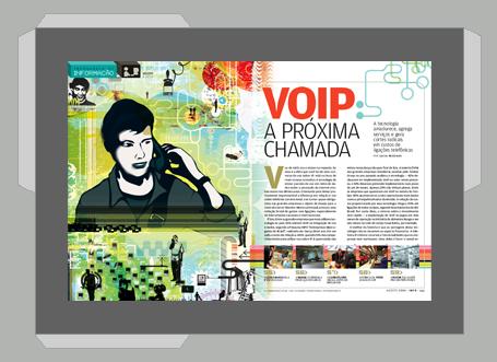 Ilustração > Revista INFO