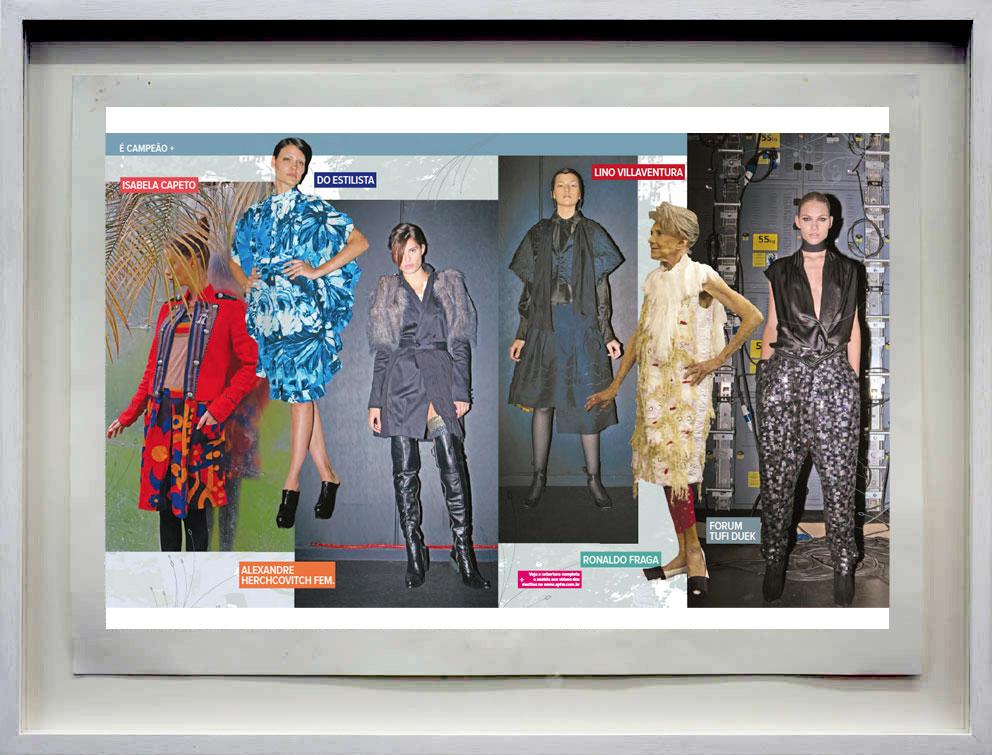 Jornal SPFW Janeiro 2009 – ilustras e design