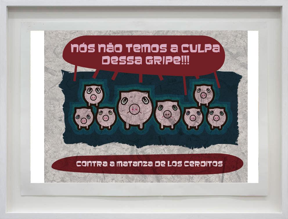 ANÚNCIO – não matem os porcos!
