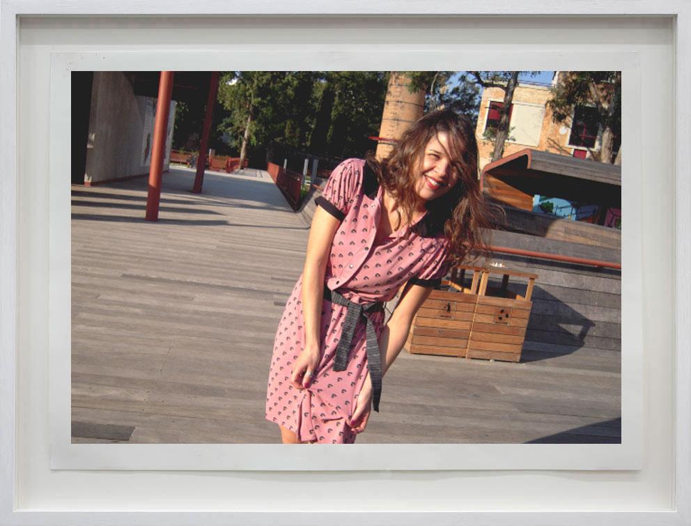 Estampa feita para Loja Qvizoo, que se transformou num lindo vestido!
